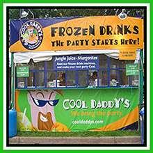 events and festival frozen drinks caterers