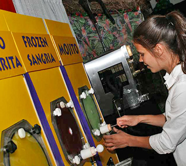 frozen drinks margarita machine rental for events