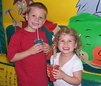 kids love frozen slushie drinks