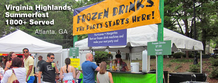 atlanta Frozen Drink Machine