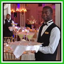wedding reception frozen drinks
