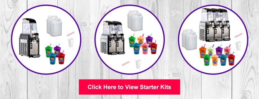 Slushie Spot Starter Kits